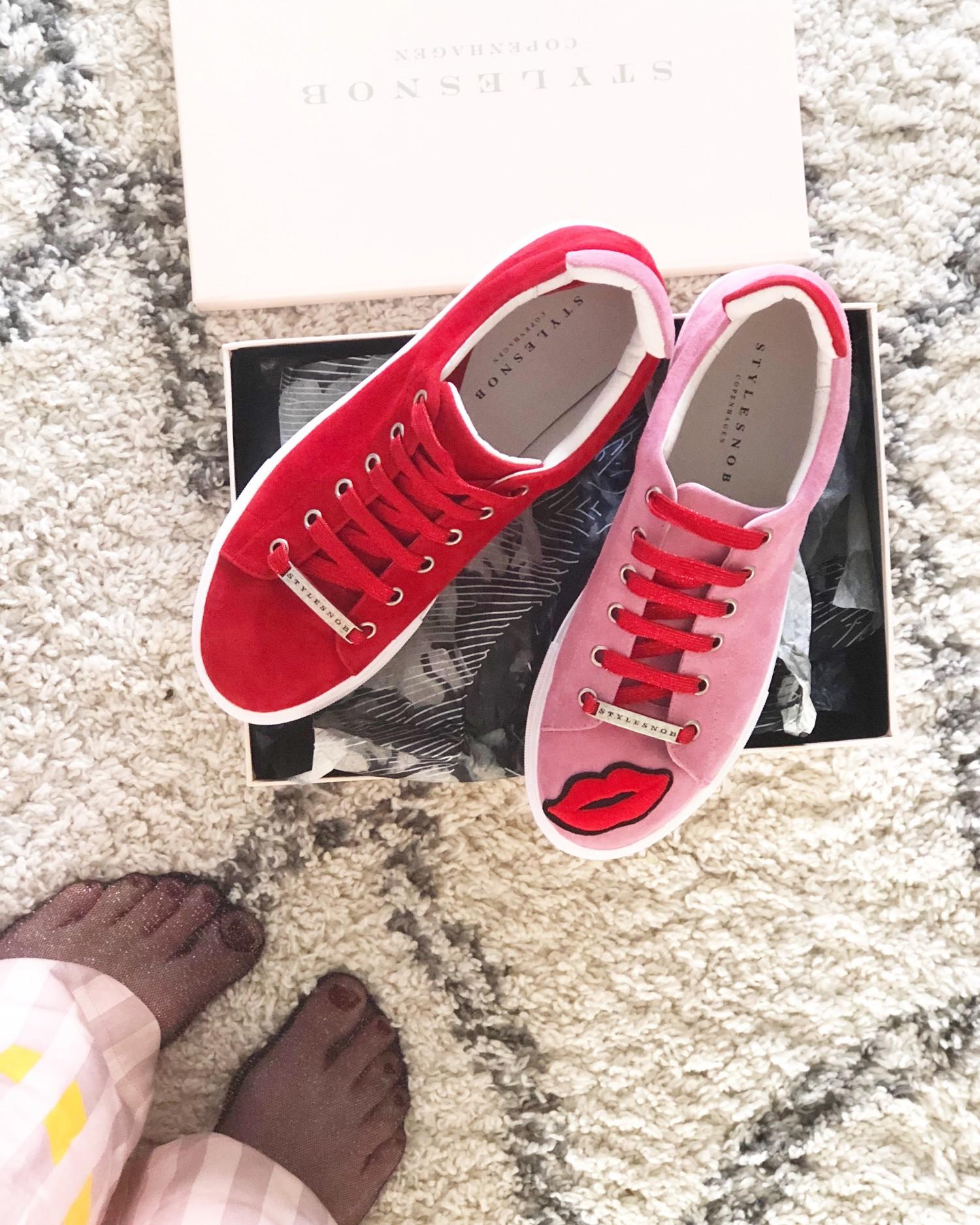 Kiss me sneakers fra stylesnob