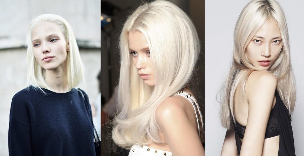 farvning af afbleget hår