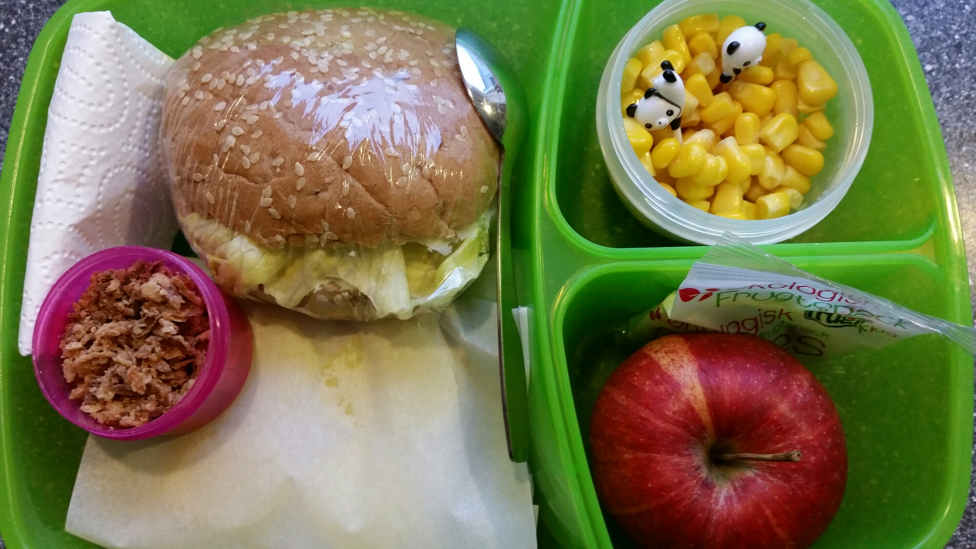 Veganske madpakker