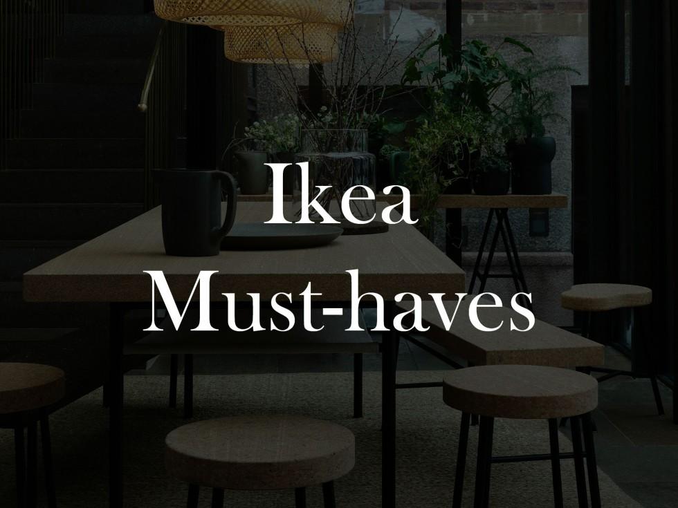 design sunday ikea must haves emma martiny. Black Bedroom Furniture Sets. Home Design Ideas