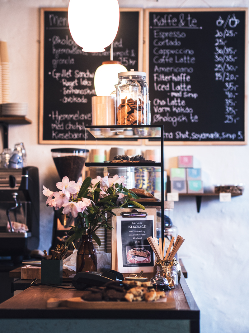 caféer i århus