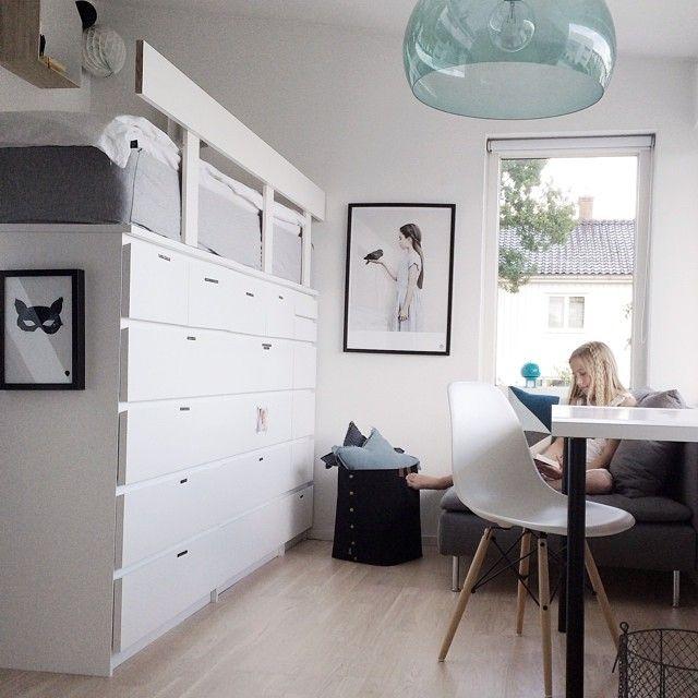 DIY: Beds with storage   KreaVilla
