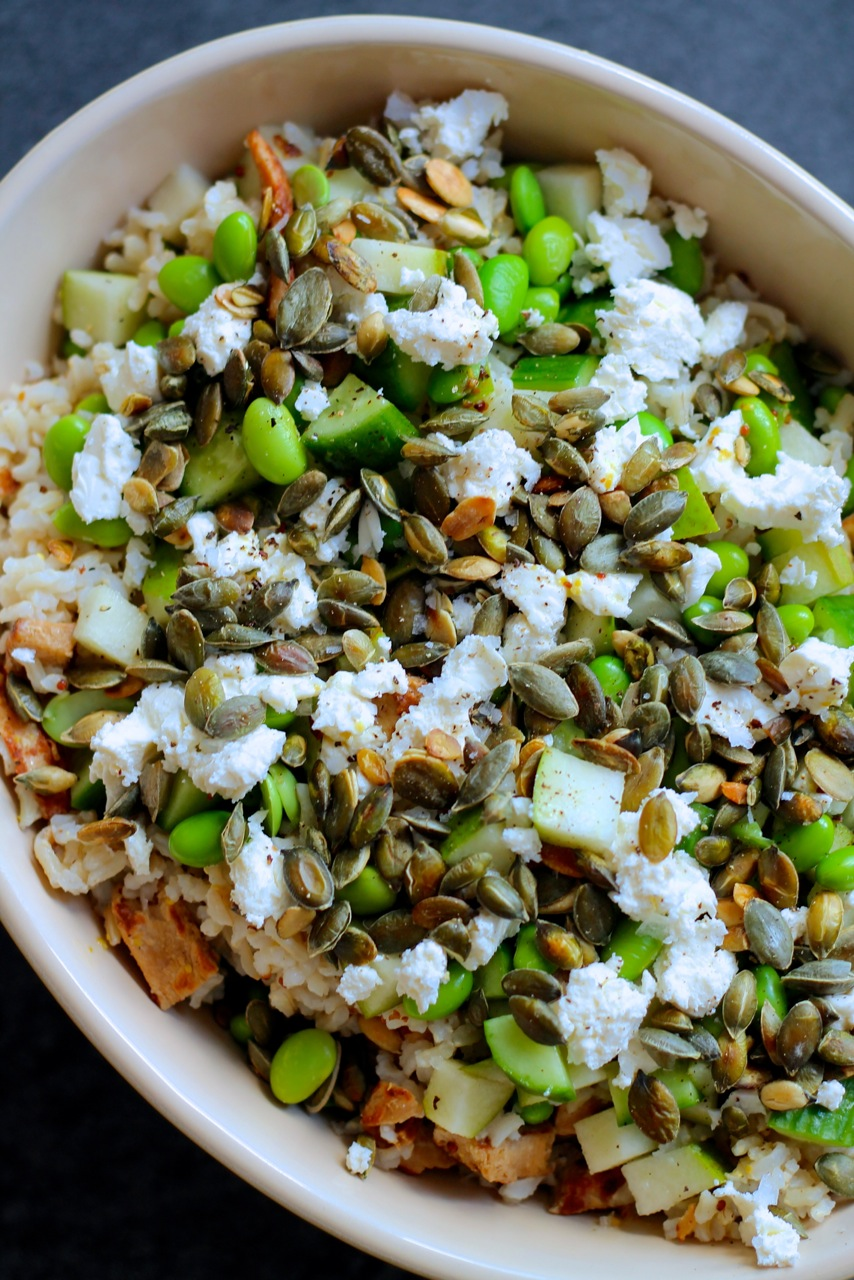 sund og nem salat til frokost/madpakke