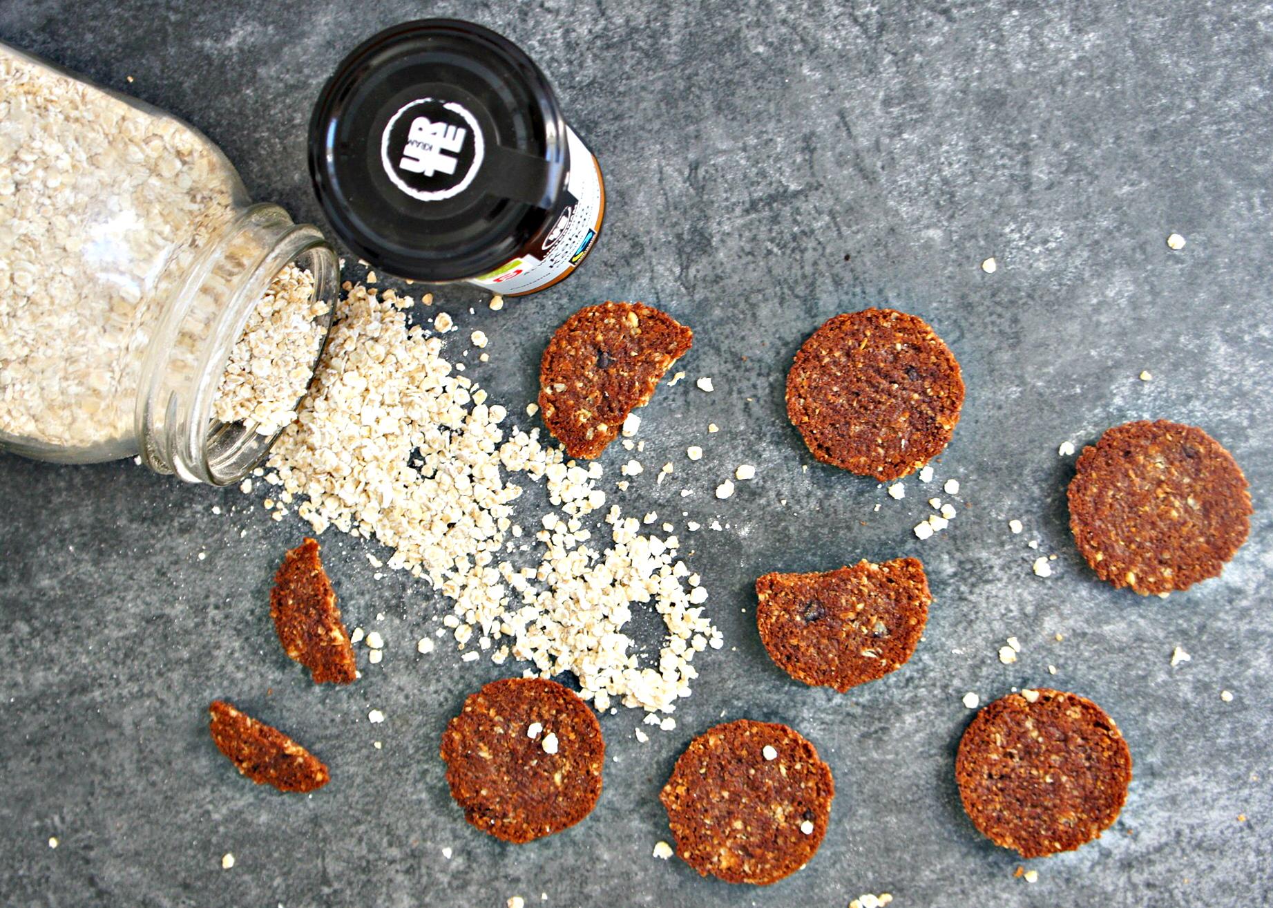 Raw cookies - Sunde julesmåkager - Cathrineyoga.dk