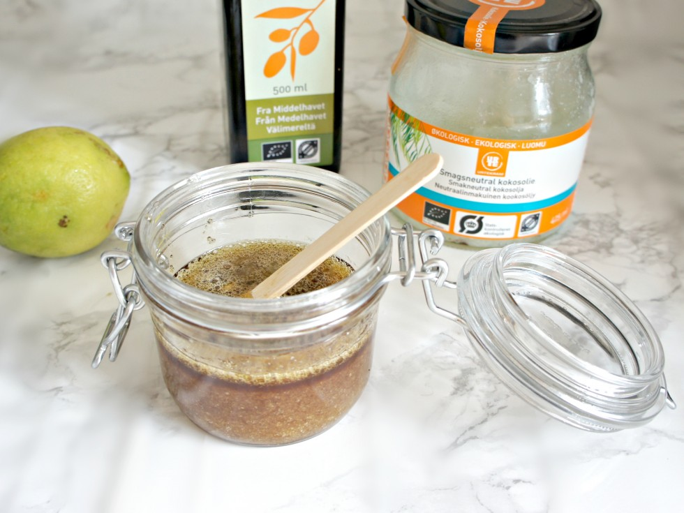 DIY #2 - homemade bodyscrub 1