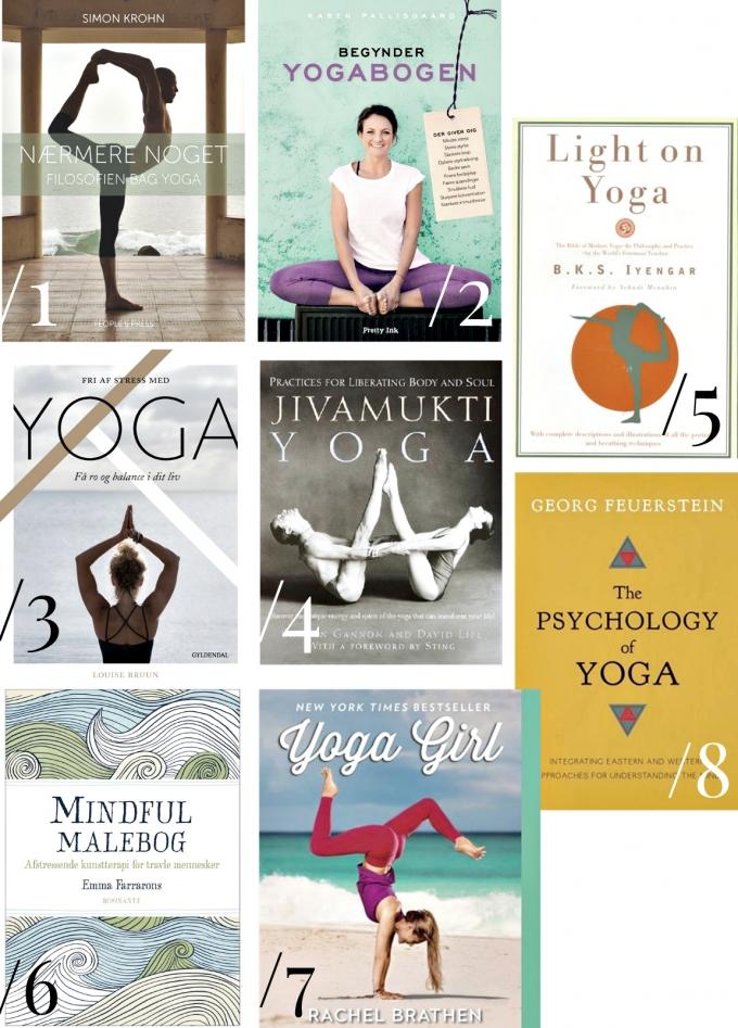 8 filosofiske yogabøger