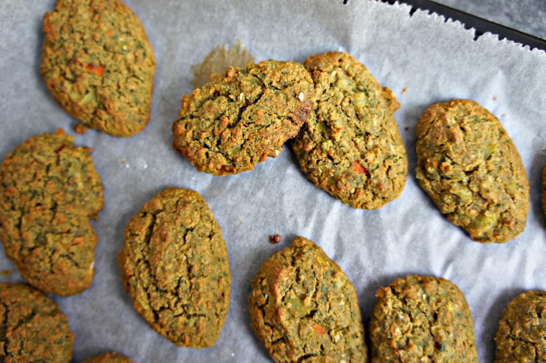 Grønne ovnbagte falafler med cashewcreme - Cathrineyoga - 10