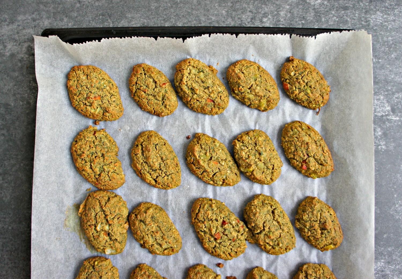 Grønne ovnbagte falafler med cashewcreme - Cathrineyoga - 9