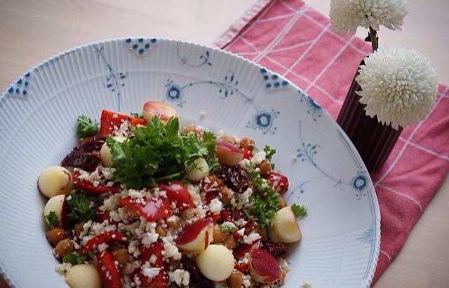 bagte tomater med peberrod