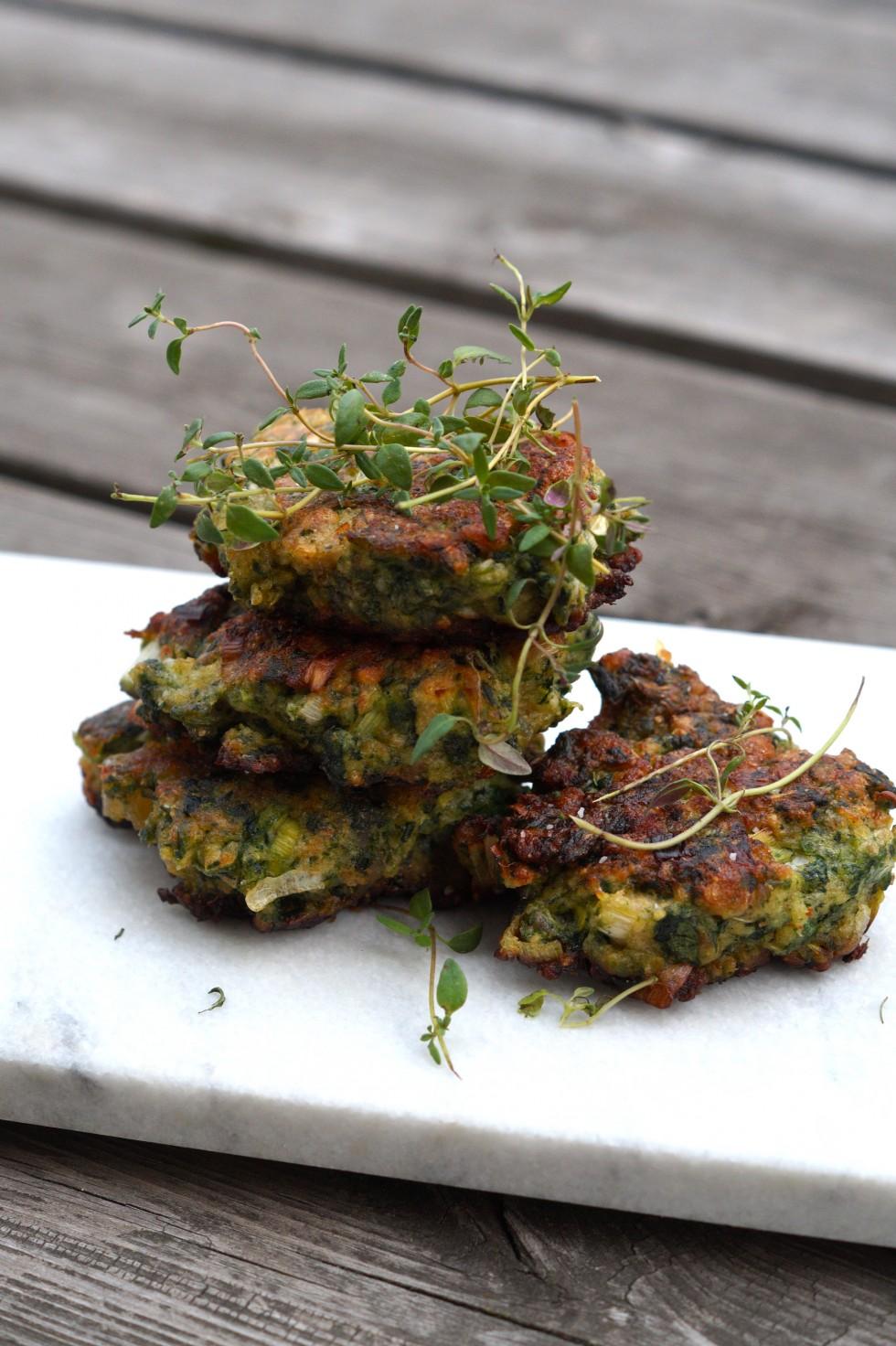 Spinat veggiedeller