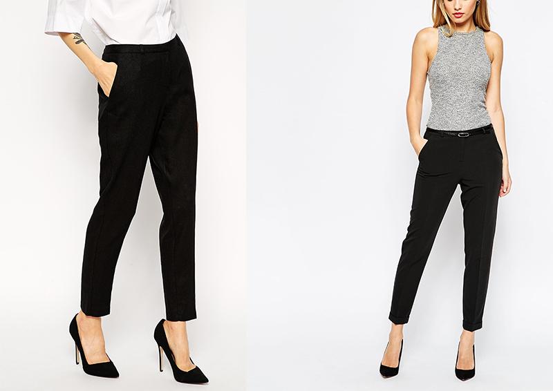 black trousers sorte bukser trend behagelige bukser sæson Amy Dyrholm blogger budget-venlige-priser Asos chinos Asos Peg trousers tøj tip sorte herrebukser