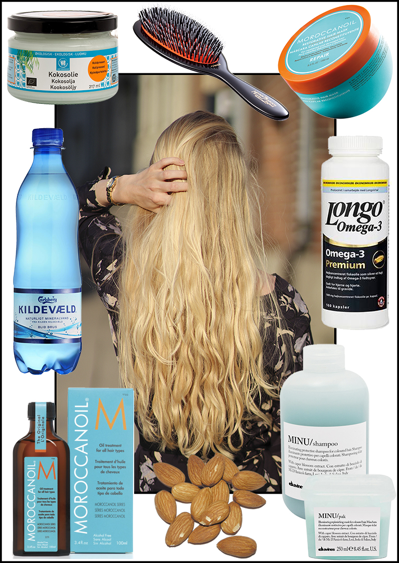 kokosolie i håret