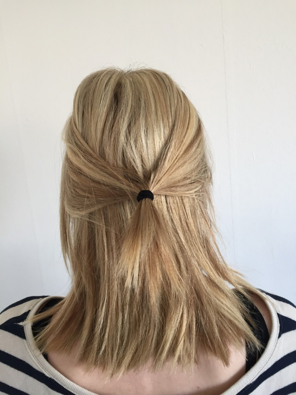 nem håropsætning mellemlangt hår