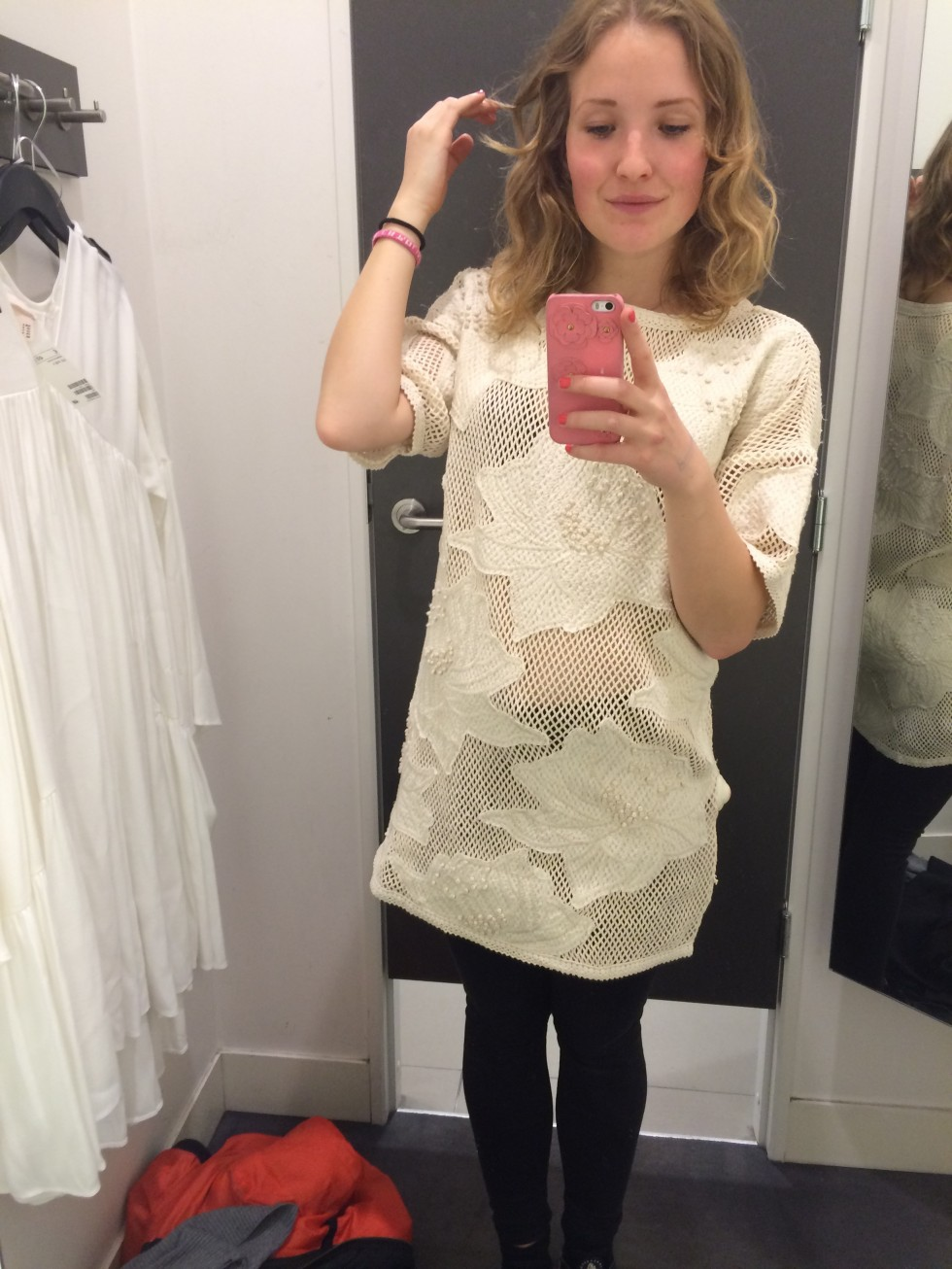 e9ce7cb76c64 Dressing room selfies - SILVER STORIES