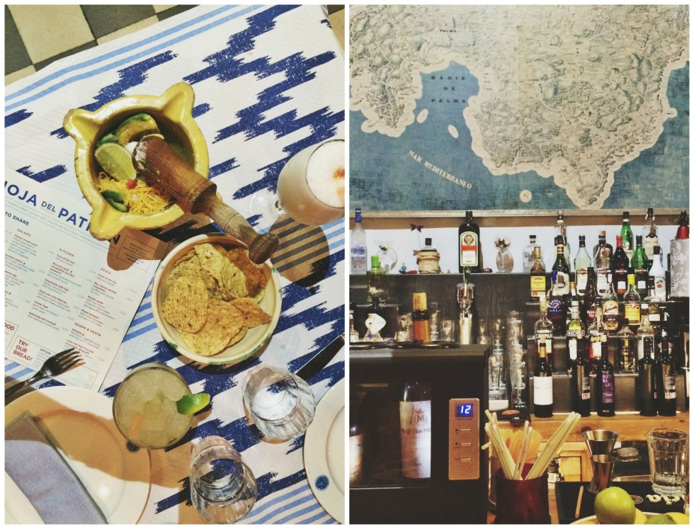 Best places to go to in Mallorca Palma dinner at Patron Lunares