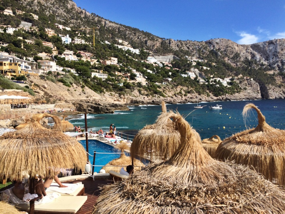 Gran Follies beach club in port andratx mallorca