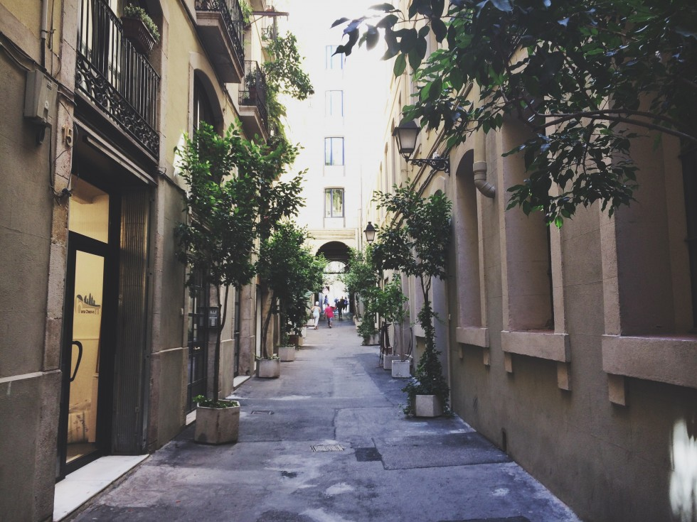 discovering the strets of barcelona