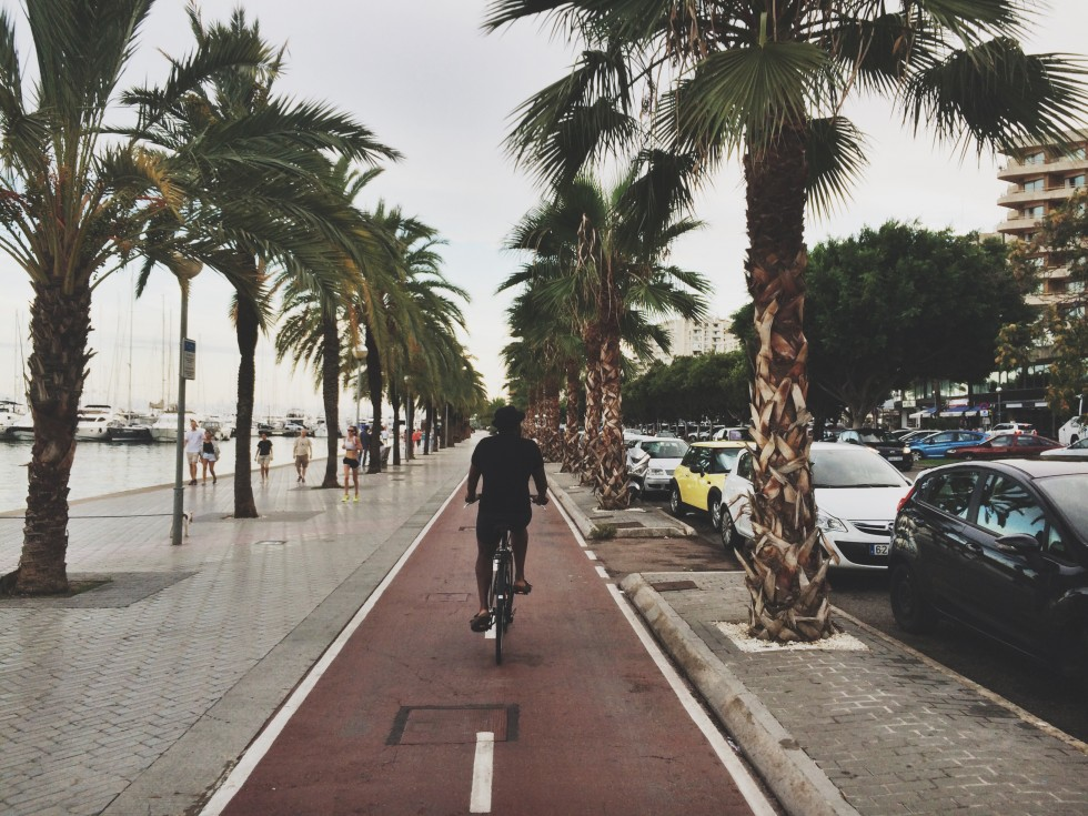 rent bikes and go biking in palma mallorca