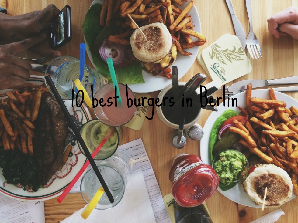 10 best burgers in Berlin