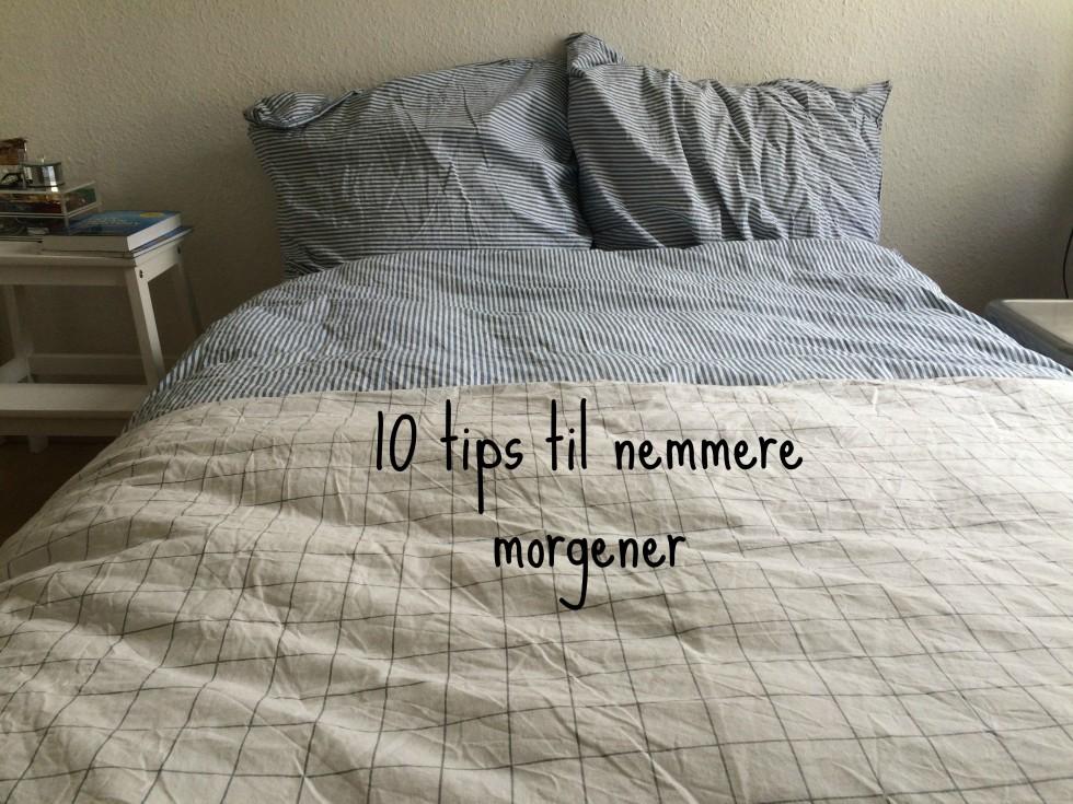 10 tips til nemmere morgener