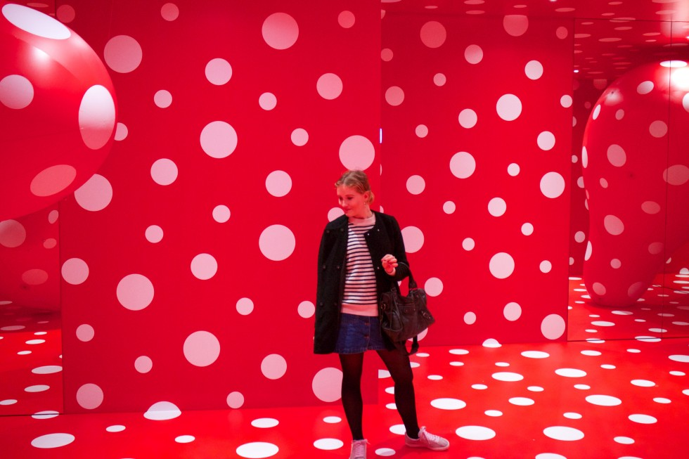 Yayoi Kusama at Louisiana Modern Art Museum in Denmark