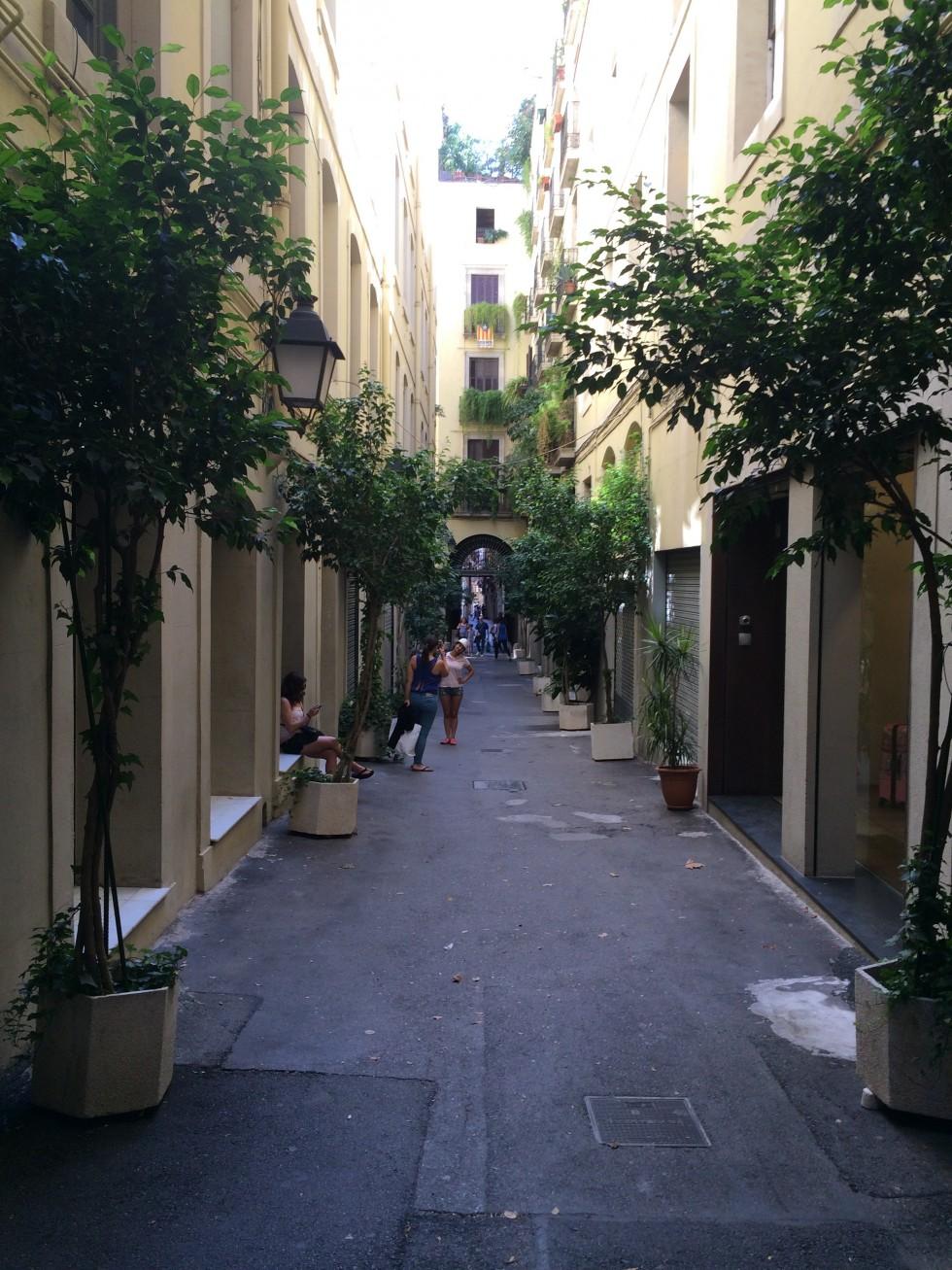 cute passage in barcelona
