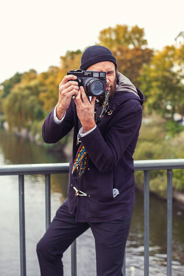 Analog camera in Berlin