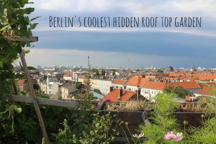 Roof top garden in Berlin Klunkerkranich