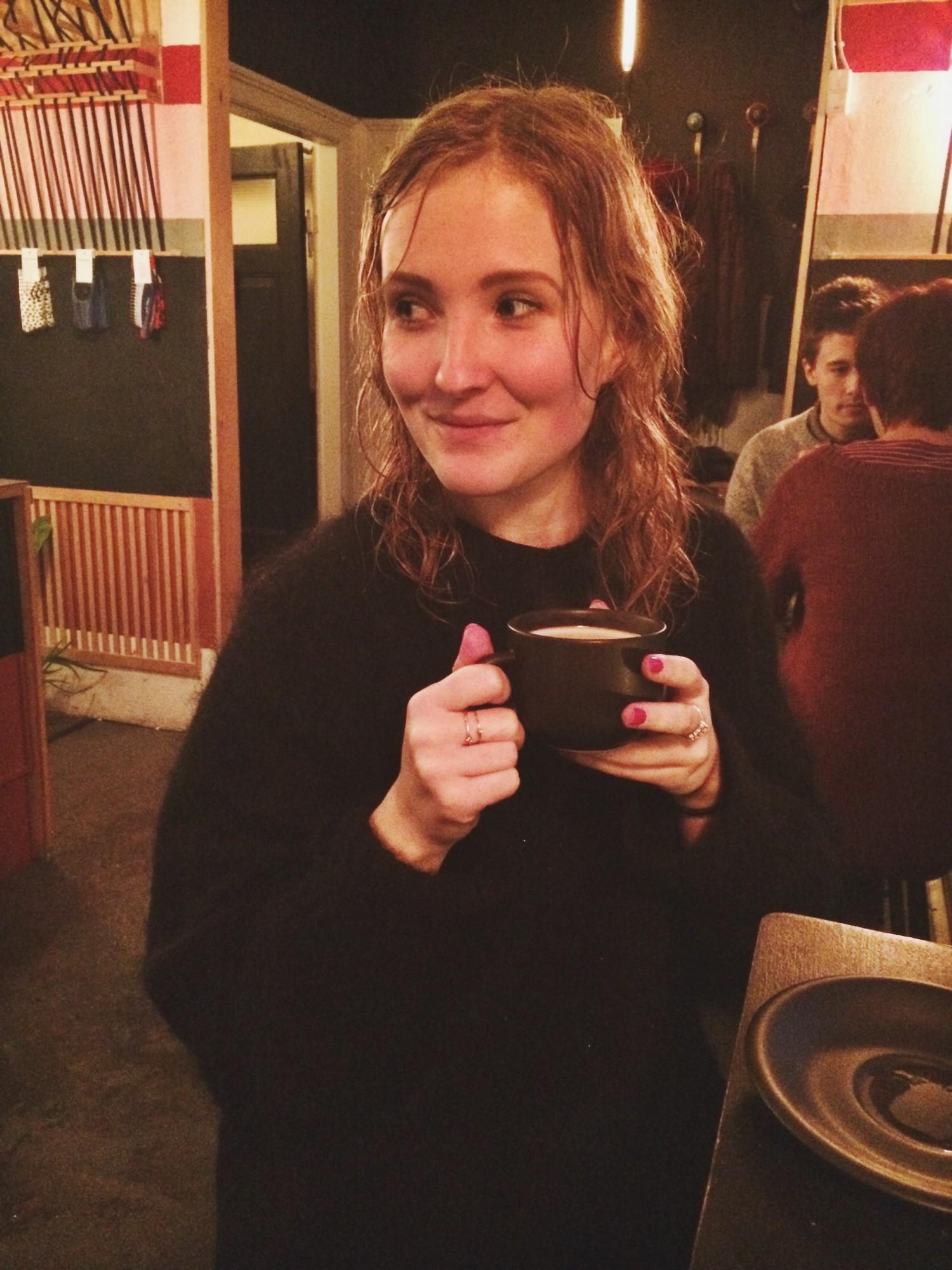 Cafe den plettede gris