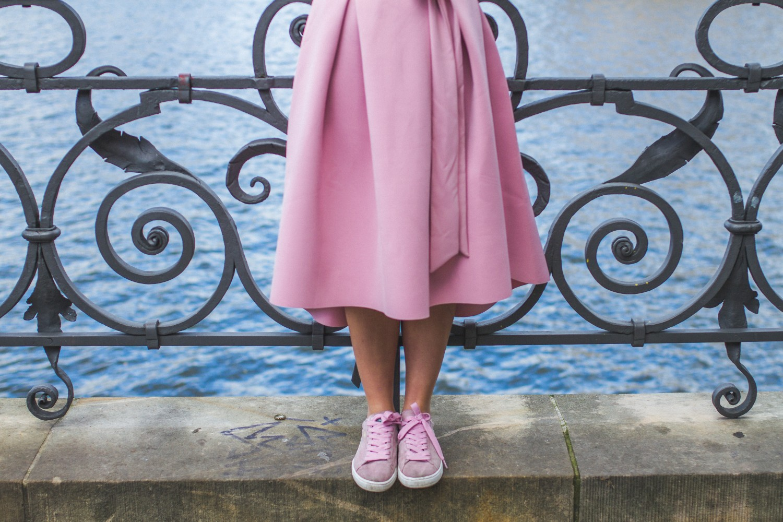caroline soelver pink dress