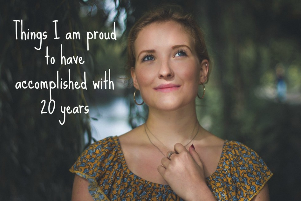 11 things I am proud to have accomplished with 20 years
