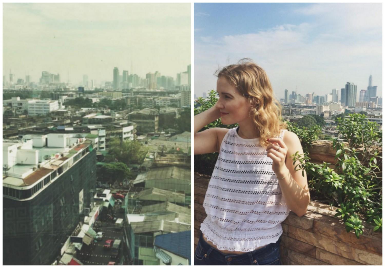 Caroline Sølver in Bangkok