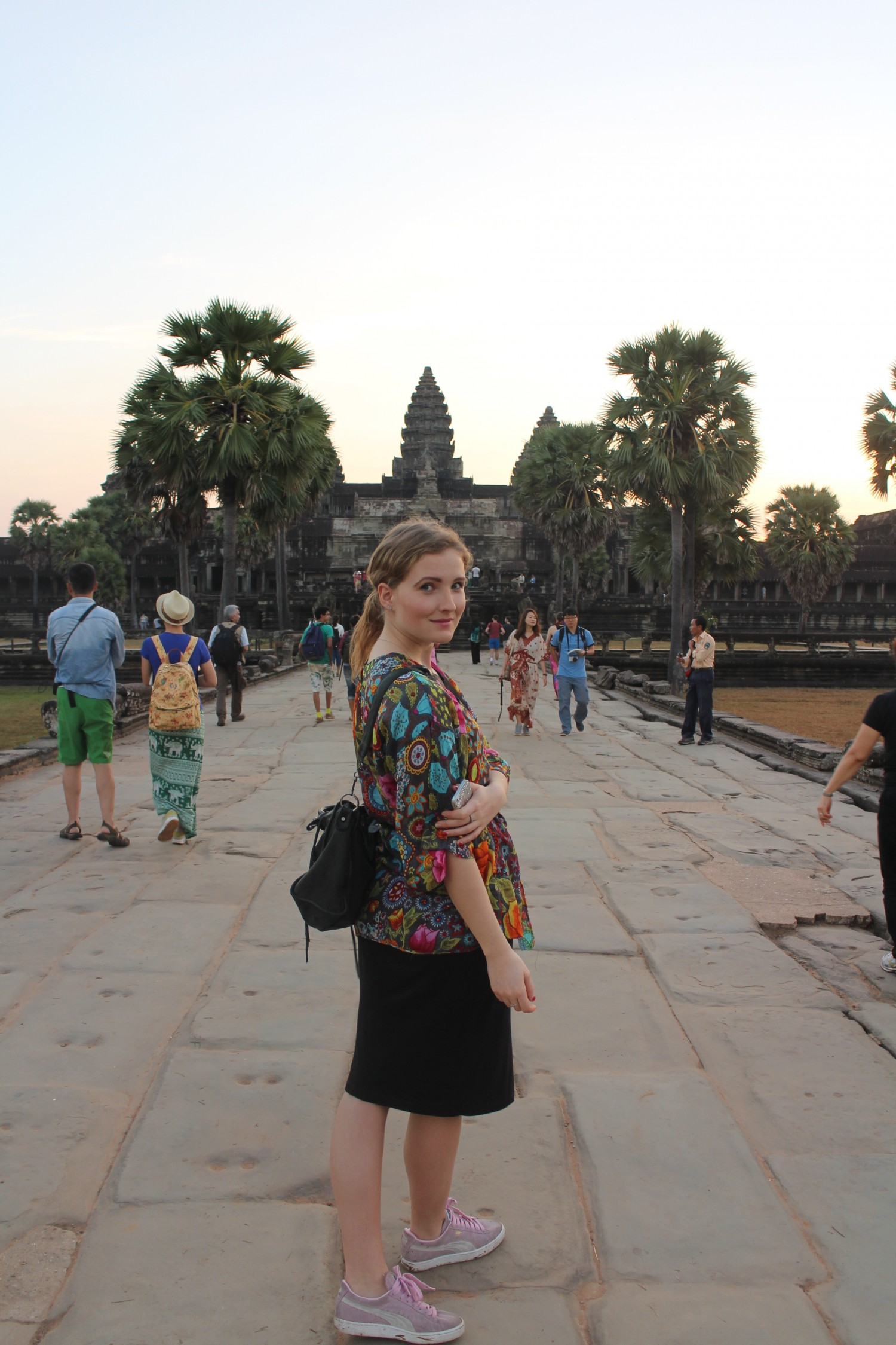 Silverstories in Angkor Wat