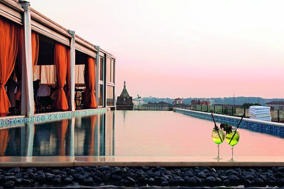 Boscolo Exedra Rome rooftop