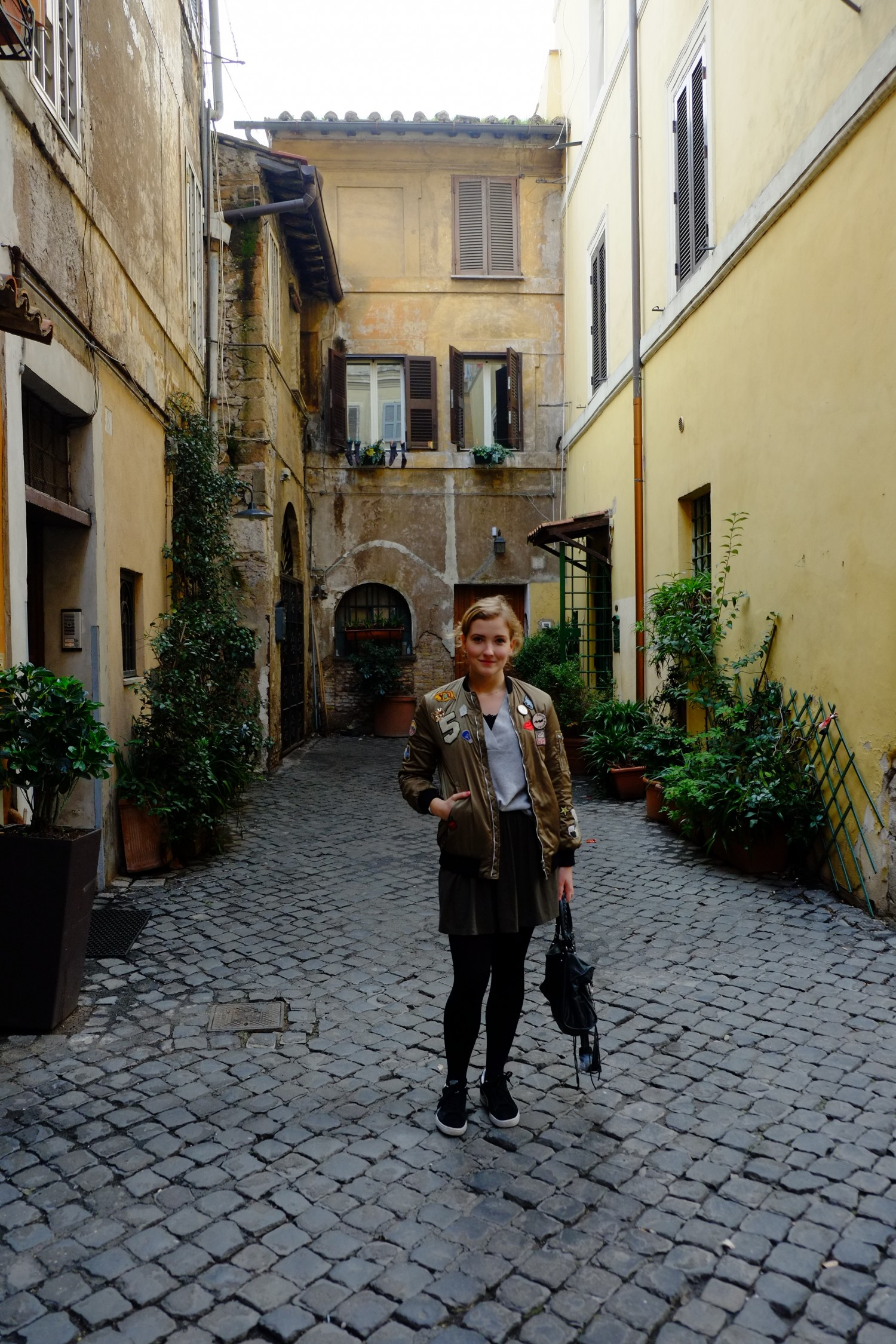 Trastevere in Rome traveling