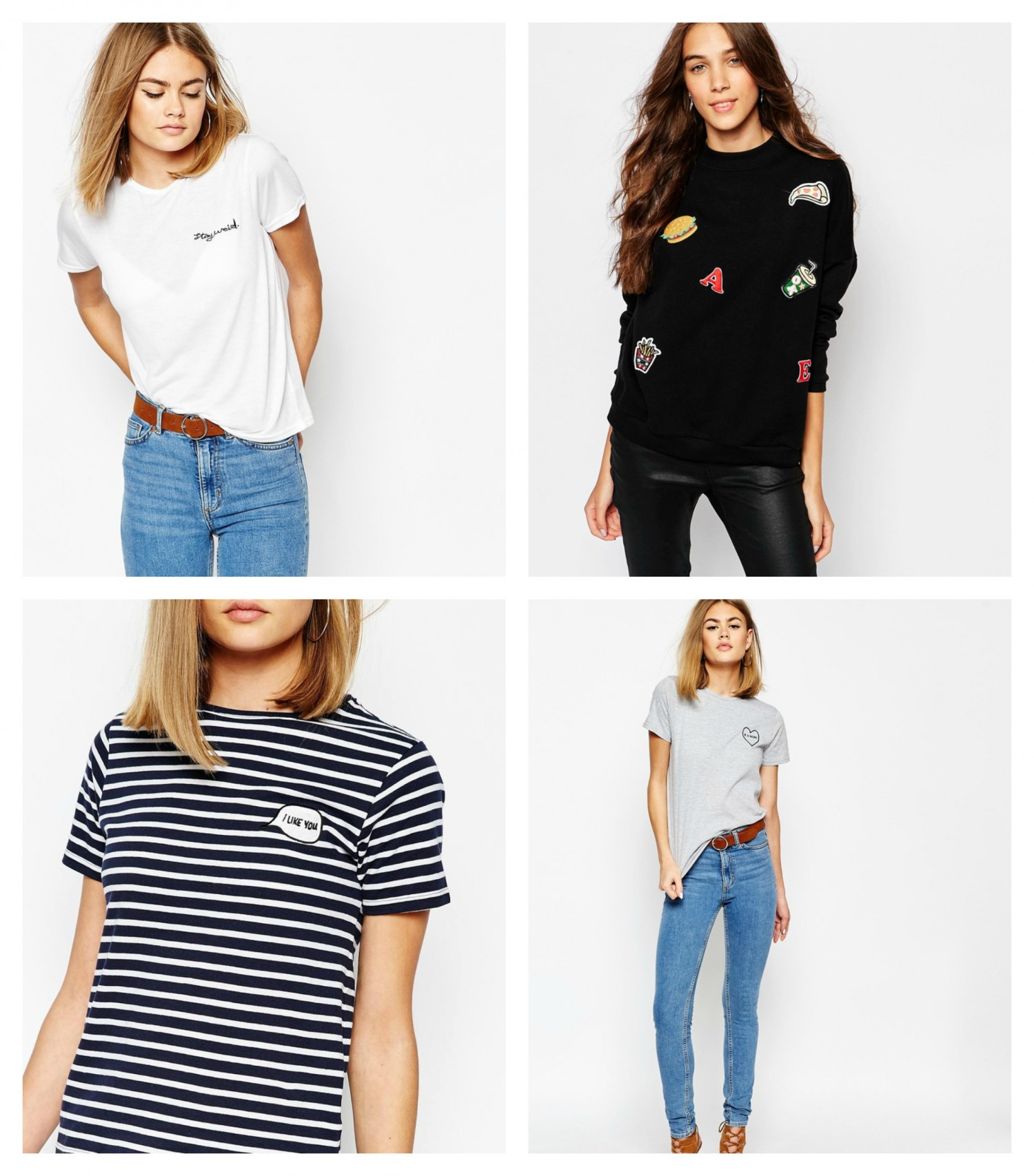 Asos t shirts with print