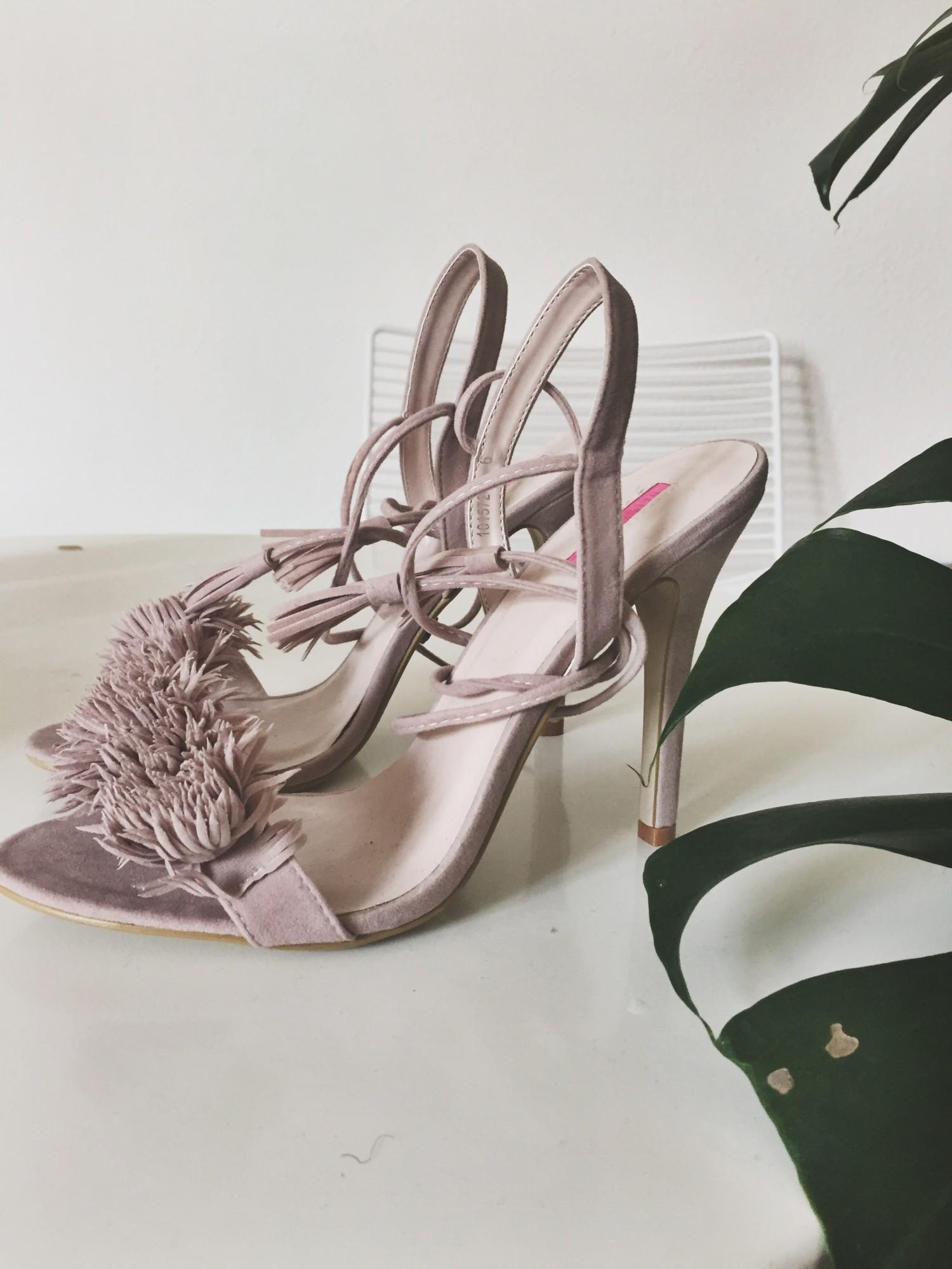 Asos tassel high heels