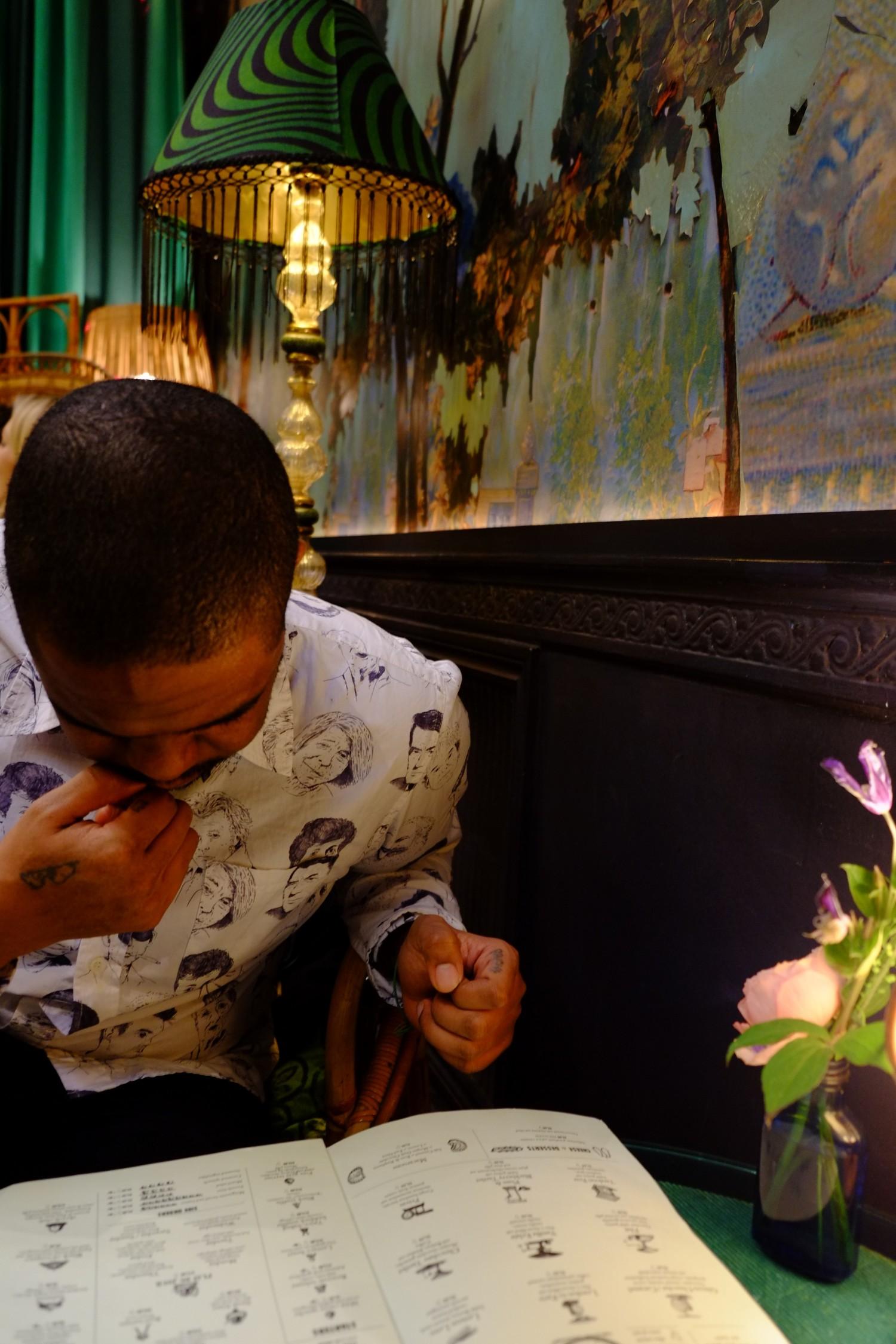 Sketch teatime London
