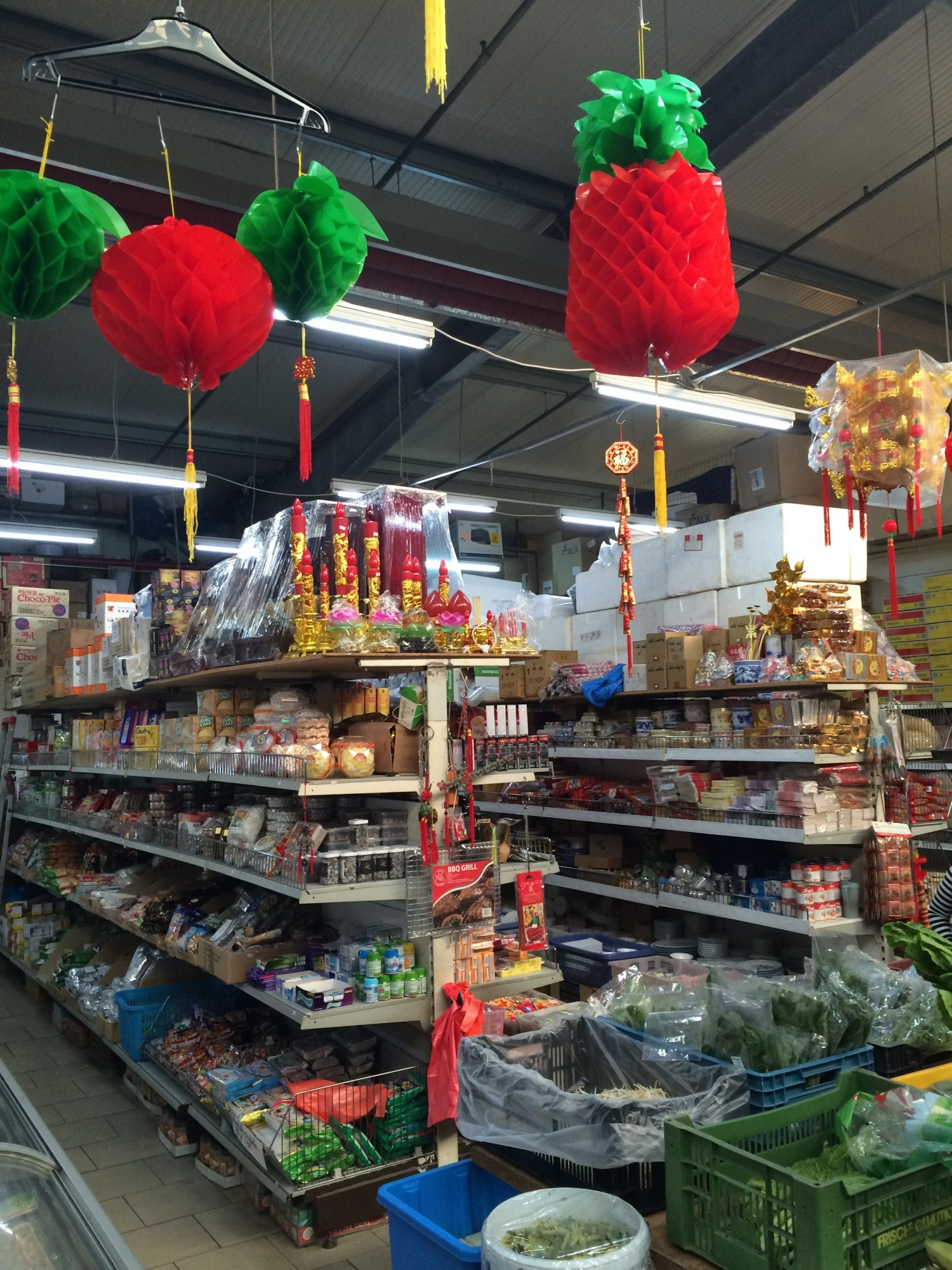 Asian market Berlin