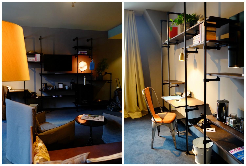 Hotel room at 25hours hotel altes hafenamt