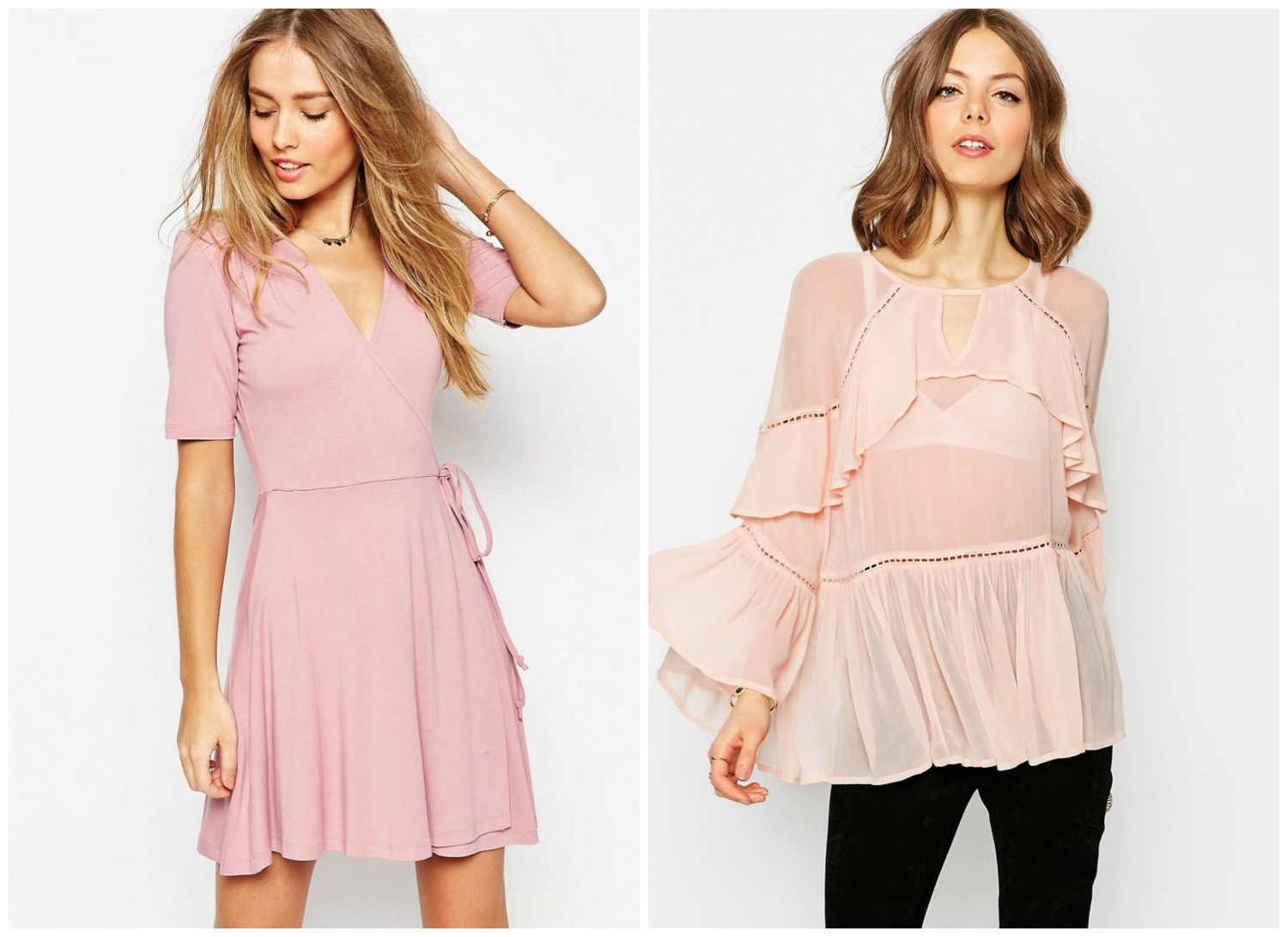 Pink Asos clothes