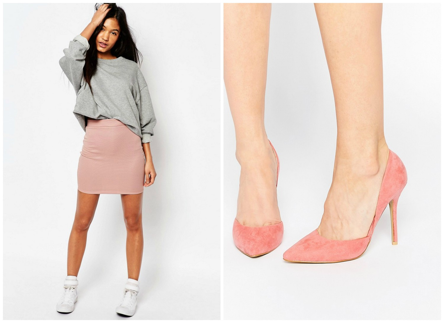 Think pink Asos Wanties
