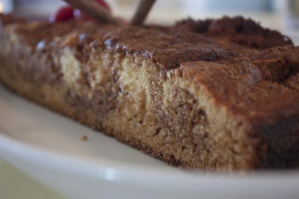 kanel-kardemomme kage