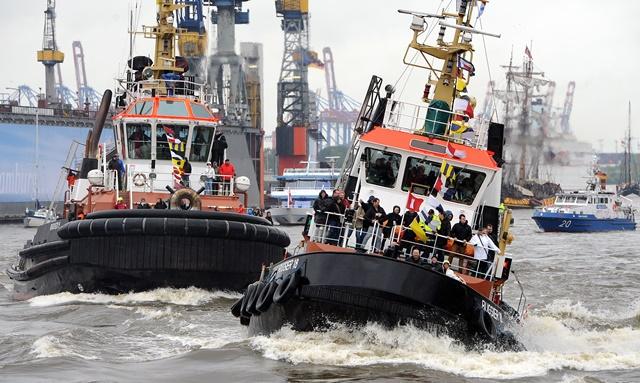 Hafengeburtstag 2014 Wasserprogramm