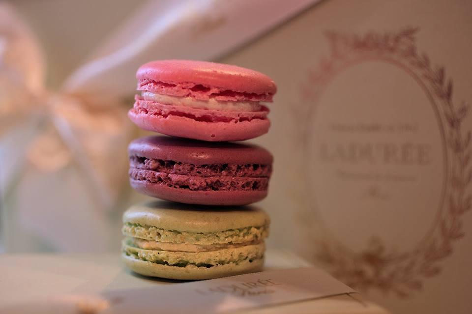 Macarons fra Ladurée i Paris