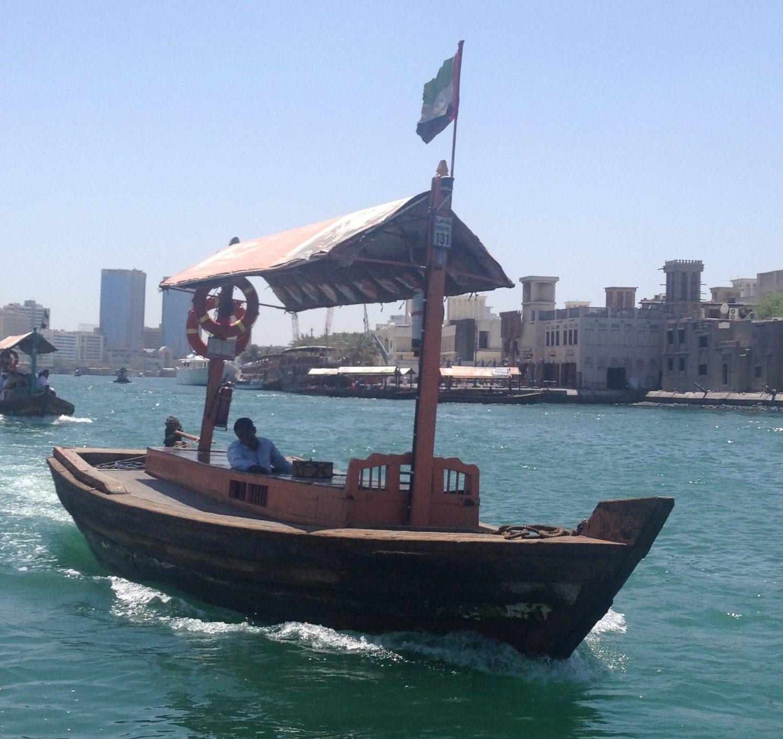 Båd i Dubai
