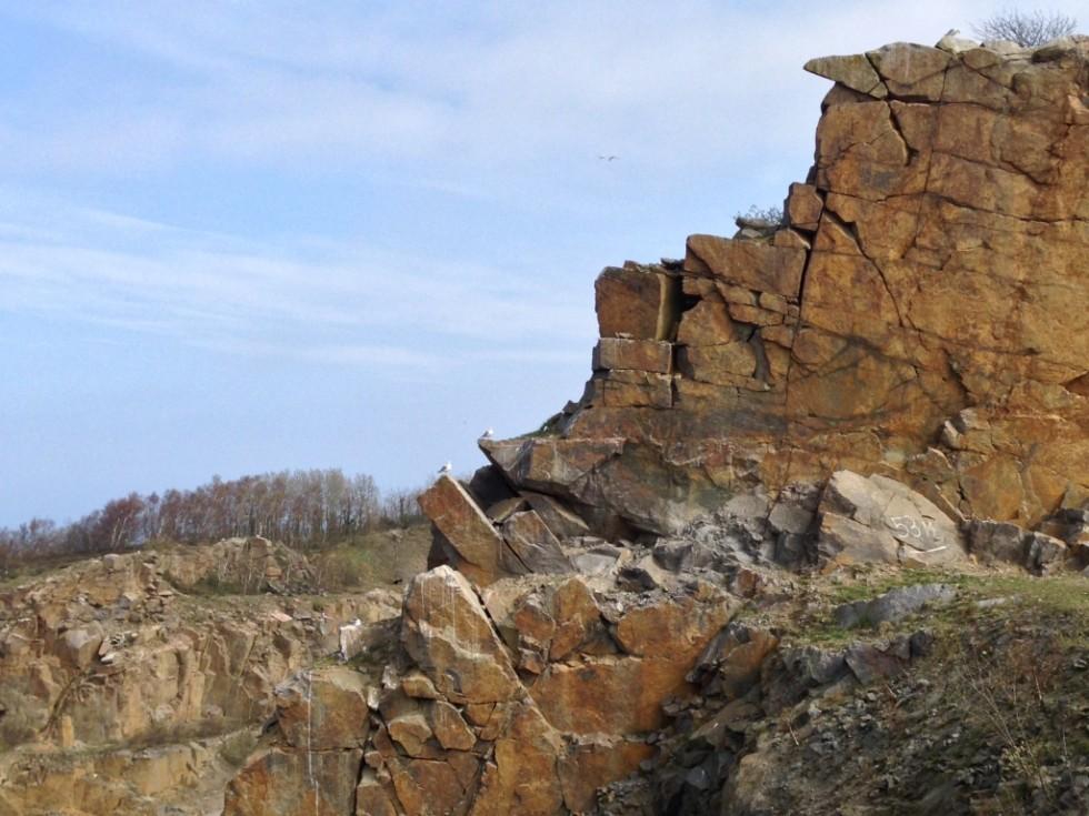 Vang Granitbrud på Bornholm