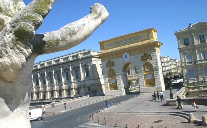 Arc Triomphe Montpellier