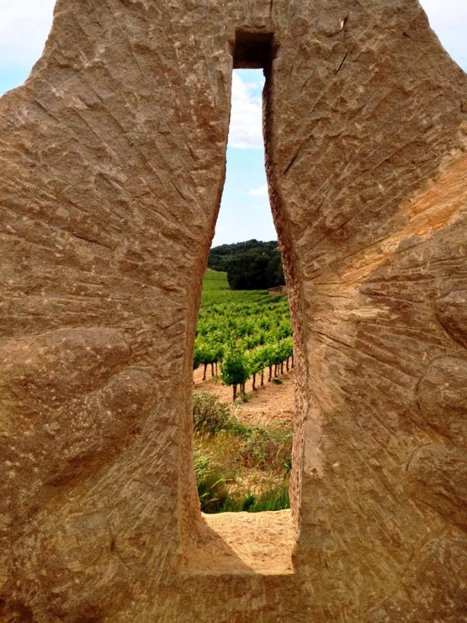 ferie i Languedoc - her på vingård