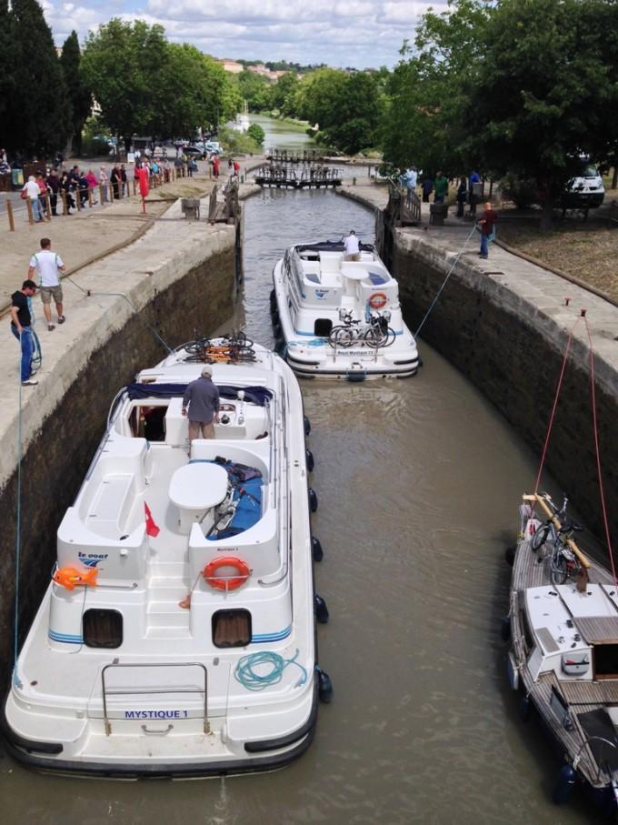 Canal du Midi i Languedoc